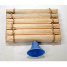 Плотик для черепах деревянный, малый