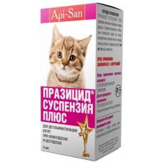 Apicenna Празицид-суспензия Плюс для котят 5 мл