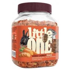Лакомство для кроликов, грызунов Little One Snack Dried carrot 200 г