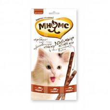 Мнямс лакомые палочки 13,5 см для кошек с говядиной и печенью 5 г