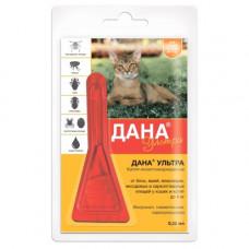 Apicenna капли от блох и клещей Дана Ультра для кошек от 4 кг