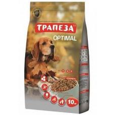 ТРАПЕЗА Оптималь сух. 10 кг для взрослых собак, содержащихся в городских условиях