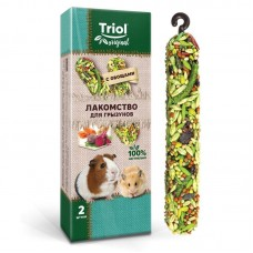 Лакомство Triol Original для грызунов с овощами (уп.2шт.), 50г