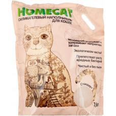 Впитывающий наполнитель Homecat силикагелевый Стандарт, 7.6 л