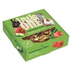 Лакомство для всех видов грызунов Little One Vegetable pizza, 55 г