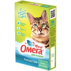 Добавка в корм для кошек Омега Neo+ Мятное настроение, 90 таб.