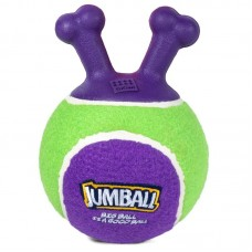 75363 Игрушка для собак Мяч теннисный c ручками зеленый 18см, серия JUMBALL