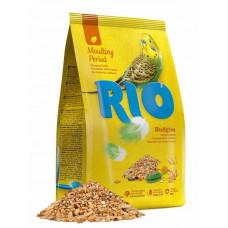 Корм для волнистых попугайчиков RIO, в период линьки, 500 гр.