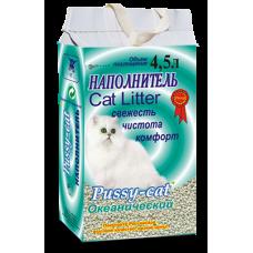 Наполнитель Pussy-cat 4,5л «Океанический»