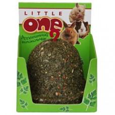 LITTLE ONE Лакомство-игрушка для грызунов Колокольчик из садовой петрушки, пшеницы и красного проса 150 г