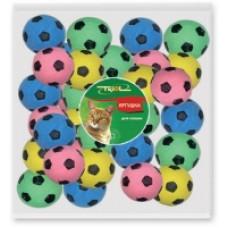 Игрушка Д/кош мяч футб одноцв зефирный 45 мм