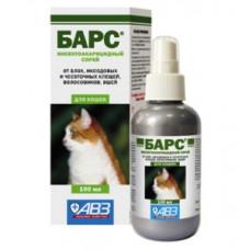 Барс cпрей инсектоакарицидный для кошек