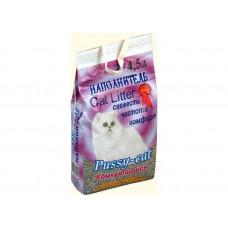 Наполнитель Pussy-cat 4,5л «Комкующийся»